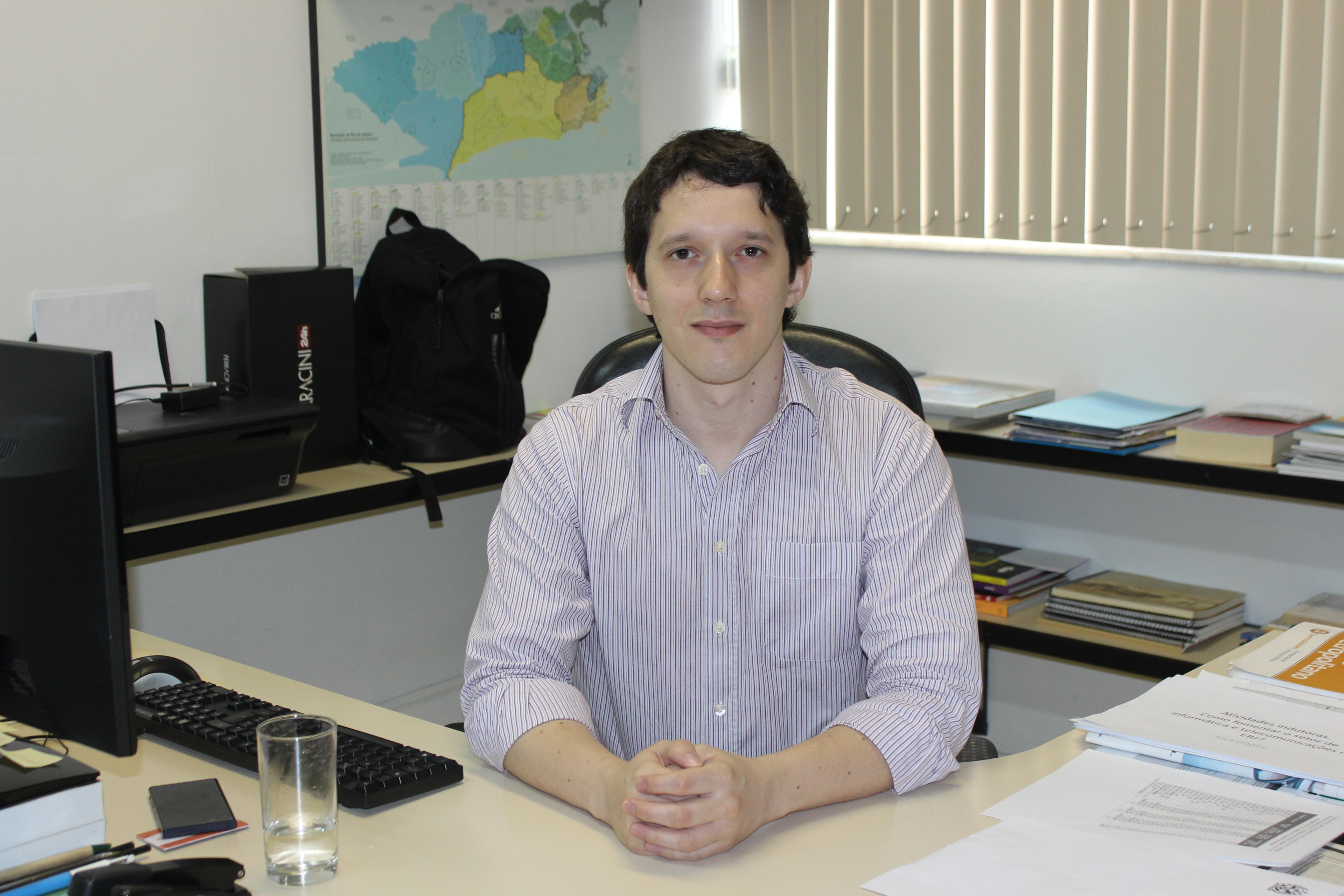 Henrique Rabelo é chefe de gabinete da presidência do Instituto Pereira Passos. Foto: Divulgação/IPP